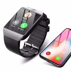 Cawono Smartwatch android Relogio smart watch hombre resistente al agua smartwach Bluetooth Reloj Inteligente android smart watch Phone Call SIM TF Cámara para IOS de Apple iPhone Samsung HUAWEI VS - Jeck Store Android Wear, Android Watch, Android Phones, Smartwatch Android, Smartwatch Bluetooth, Apple Smartwatch, Bluetooth Watch, Fitness Tracker, Fitness Goals