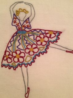 Embroidery/Dancer