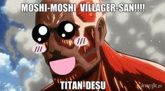 Anime Meme, Me Anime, Funny Anime Pics, Manga Anime, Aot Memes, Funny Memes, Aot Funny, Desu Desu, Attack On Titan Meme