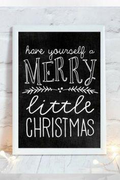 Chalkboard Christmas Sign, Christmas Chalkboard Print, Printable Christmas Decoration, Festive Home Decor, Rustic Christmas Decor, Xmas Art #christmasdecor #decorations #affliatelink