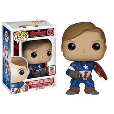 2015 SDCC Exclusive Avengers: Age of Ultron Unmasked Captain America #Marvel