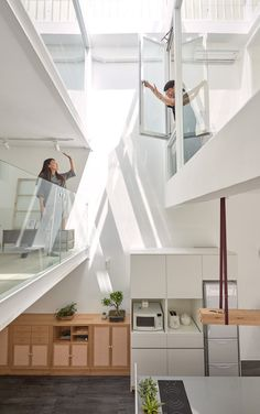 Gallery of 22 Skinny Houses With a Narrow Footprint and a Broad Impact  - 13