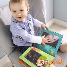 Fotóalbum a család fényképeivel, vagy kedvencekkel, vagy készségfejlesztő feladatokat is rakhatunk bele.  A babák nagyon szeretik nézegetni a családtagok fényképeit. Lehet belőle beszélgetős könyv a családról.  Könnyen megtanulhatják ezzel a kedves fotóalbum segítségével a neveket. Frame, Home Decor, Pictures, Photograph Album, Picture Frame, Decoration Home, Room Decor, Frames, Home Interior Design
