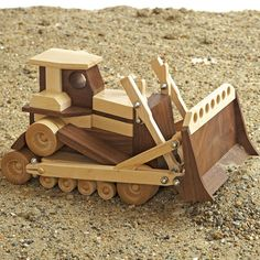 Toy Bulldozer Plan - www.rockler.com