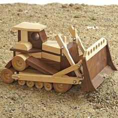 Toy Bulldozer Plan - www.rockler.com