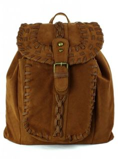 Chicwish Camel Knit Backpack - Bags - Goods - Retro, Indie and Unique Fashion Hippie Backpack, Backpack Purse, Fashion Backpack, Rucksack Bag, Estilo Hippie, Boho Hippie, Hippie Style, Bohemian, Cute Backpacks