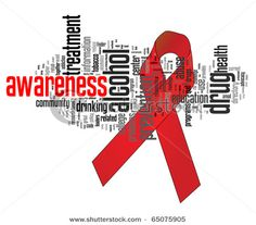 Substance abuse awareness. Speak out.