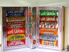 Vintage Life savers story book interior -- A stocking stuffer staple.looked forward each Christmas for the Life Savers that I knew Santa would put in my stocking. My Childhood Memories, Childhood Toys, Great Memories, 1970s Childhood, Life Savers, Powerpuff Girls, Before I Forget, Tv Shows Funny, Christmas Books