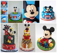 Hermosas tortas infantiles de Mickey mas recomendaciones para armar tu fiesta. Entra a conocerlas!!!