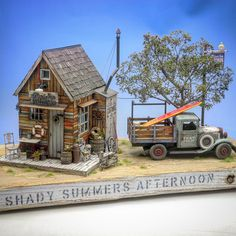 Beachside Clothing 1/24th scale Oct. 2015. Completed