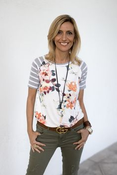 Our original Floral Stripe T Shirt and a brand new Brown Leather String Necklace on the blog today and both part of our Weekend Flash Sale. . Get 15% off all featured items with code FS429 plus Free US Shipping www.jacketsociety.com