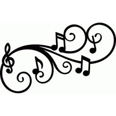 Melodie-Flourish-Musik-Anmerkung SVG DXF digital durch SophiesPaperHouse Source by Anyaripassa Music Silhouette, Silhouette Design, Bird Silhouette, Silhouette Studio, Clipart, Best Music Downloader, Youtube Music Converter, Android Music, Music Drawings