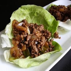 Beef Lettuce Wrap Recipe | Just A Pinch Recipes