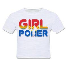 camiseta infantil moda criança girl power mulher maravilha wonder woman