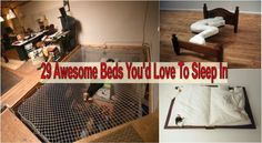 29 Awesome Beds You'd Love To Sleep In - Find Fun Art Projects to Do at Home and…