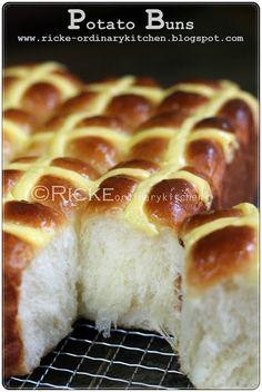 Potato Bun - Just My Ordinary Kitchen share by Inge Lies