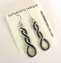 Celtic Wave Braided Earrings Customize your por RefreshingDesigns                                                                                                                                                                                 Más