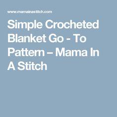 Chunky Icelandic Crochet Blanket Pattern – Mama In A Stitch One Skein Crochet, Easy Crochet Blanket, Crochet For Beginners Blanket, Chunky Crochet, Crochet Baby, Crochet Blankets, Baby Blankets, Crotchet, Crocheted Afghans