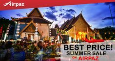 Ready for summer holiday? We bring you prosperous deals to amazing getaways! Enjoy exclusive offers for flights and the Thai Lion Air Experience Check our blog for detail: http://ow.ly/4neimo  #CheapFlights #Promo #ThaiLionAir #Airpaz #Travel #Thailand #Summer #Sale #Vacation #Backpacker #Backpacking #Trip #Holiday