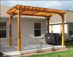 Amazon.com: 8' x 10' Cedar 2-Beam Pergola: Patio, Lawn & Garden