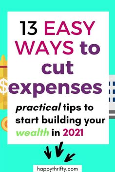 These are some frugal living ideas and money-saving tips that might be helpful to improve your financial health. Whether you are trying to stop living paycheck to paycheck, build your emergency fund, pay off your debt with a low-income or middle-class salary, or start building wealth - this article will help you to drastically cut your expenses. Enjoy! #savemoney #budgetingtips #budgetingideas #personalfinance Savings Plan, Budgeting Tips, Finance Tips, Money Saving Tips, Frugal Living, Debt, Personal Finance, Wealth, Improve Yourself