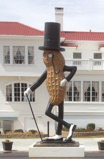 Preservation Virginia's Blog: Mr. Peanut Shines in Suffolk!