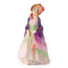 Royal Doulton Figurine, Paisley Shawl M4