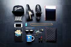Essentials: Dani Concepcion Men Fashion Photo, Mens Fashion, Edc Essentials, Outfits With Converse, Stylish Mens Outfits, Everyday Carry, Clothes Horse, Hats For Men, Hypebeast
