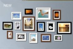 Picture Frames - Photo Wall Frame Collection-Set of 15 FZ-2015