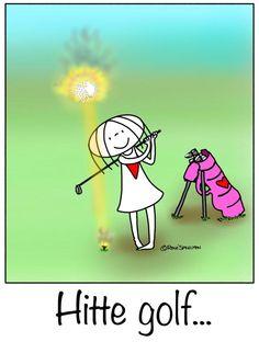 Hitte golf - Jabbertje