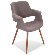 Living Room Furniture - Solo Accent Chair - Brown