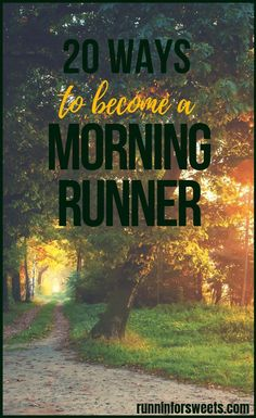 Fitting in a run in the morning is a goal many of us wish to achieve. Luckily, these 20 strategies will help you become a morning runner with ease. Check out these 20 game-changing morning running tip Running Routine, Running Workouts, Running Tips, Running Schedule, Running Plans, Walking Workouts, Song Workouts, Running Track, Butt Workouts
