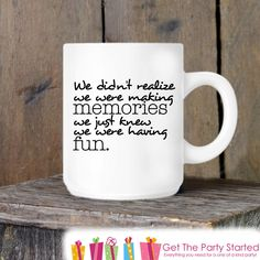 Coffee Mug, Friends Forever, Funny Novelty Ceramic Mug, Humorous Quote Mug, Coffee Cup Gift, Gift Idea for Her or Him, Best Friends Gift