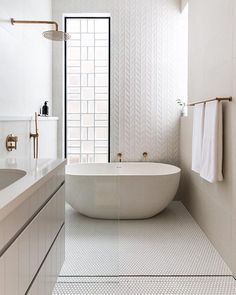 Are you and your bathroom the right candidates for a sleek minimalist setting? Contemporary bathroom, as well as a minimalist bathroom, is a perfect example of the interior perfection to optimize the space and maximize the appearance with a minimum Bad Inspiration, Bathroom Inspiration, Chalet Design, Bathroom Photos, Bathroom Ideas, Bathroom Organization, Bathroom Designs, 3d Tiles Bathroom, Wall Tiles