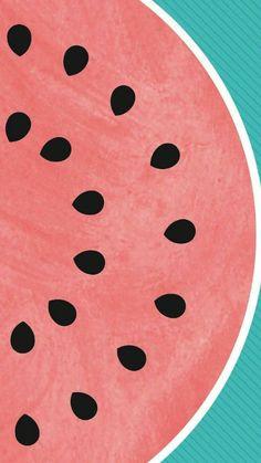 Watermelon wallpaper for phone. Screen Wallpaper, Cool Wallpaper, Mobile Wallpaper, Pattern Wallpaper, Wallpaper Backgrounds, Wallpaper Quotes, Phone Backgrounds, Trendy Wallpaper, Summer Wallpaper