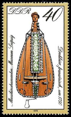 POSTAGE STAMPS:  Germany Stamp - Musical instrument