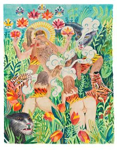 Astral Traveler Awakens In The Jungle by Alpha Channeling