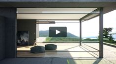 SIAS SA presents the innovative Turnable Corner Window System by Swiss Vitrocsa. A solution for complete space optimisation by releasing the glazing from the passageways. Minimalist Window, Minimalist Home, Steel Windows, Windows And Doors, Home Architecture Styles, House Architecture, Residential Windows, Home Tech, Forest House