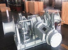 Electric Anchor Winch - Easy Operation/ Long Service Life Hydraulic Winch, Hydraulic Cylinder, Hydraulic Pump, Electric Winch, Electric Boat, Electric Motor, Chain Drive, Belt Drive