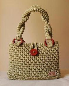 Crochet Bag Tutorials, Crochet Projects, Crochet Handbags, Crochet Purses, Diy Fashion, Fashion Bags, Crochet Stitches, Crotchet Bags, Tricot