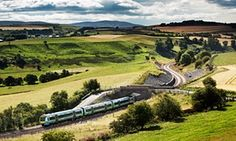 New train a comin' … the new Borders Railway follows the old Waverley Line, running from Edinburgh to the new station of Tweedbank.