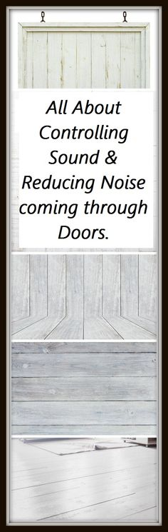 How to do soundproofing of a door? Get best detail information and relevant products.