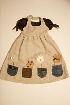 Jean Pockets Dress