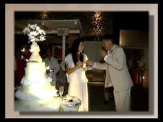 Wedding in Santorini Asian beauty, glam, great party and amazing wedding cake!!!