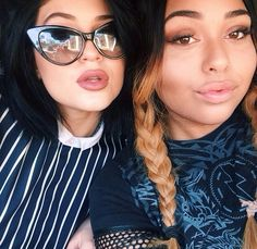 Kylie Jenner. Those lips, fake or not, yumm