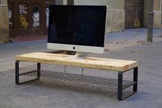 Mueble de TV hecho con palet reciclado / TV table made with recycled pallet…