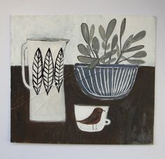 sage is for wisdom an original still life painting - Cathy Cullis 2013 Graphic Illustration, Illustrations, Be Your Own Kind Of Beautiful, Art Themes, Texture Painting, Painting Inspiration, Collage Art, Still Life, Art Projects