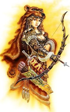 Dziewanna, Devana, Dzievana, Zievonia, Dživica, Dzieva, Zewana. Slavic goddess of nature, forest and hunt, spring. Niewykluczone, Dziewanna and Marzanna could be the life-spring/death-winter sides of one Goddess.