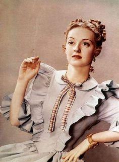 """Bette Davis, """"Jezebel"""", 1938."""