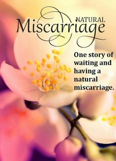 Natural Miscarriage, one story of waiting and having a natural miscarriage.  Alternative to dnc procedure.  Miscarriage, pregnancy loss, grief.